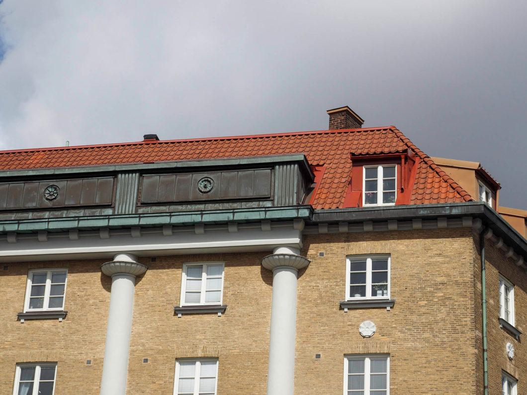 kapellplatsen tak